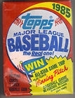 1985 Topps Wax Pack - McGwire RC? Clemens RC? Puckett RC?