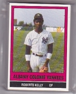 1986 Albany Colonie Yankees Team Set (Albany Colonie Yankees)