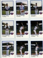 1986 Lynchburg Mets Team Set (Lynchburg Mets)