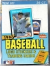 1987 Fleer Box-36 Packs