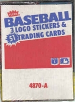 1987 Fleer Rack Box