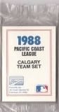 1988 Calgary Cannons Team Set (Calgary Cannons)