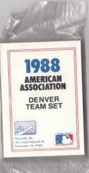 1988 Denver Zephyrs Team Set (Denver Zephyrs)