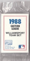 1988 Williamsport Bills Team Set (Williamsport Bills)