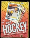 1988-89 Topps Hockey Box-36 Packs