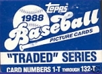 1988 Topps Traded Set