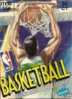 1989-90 Fleer Wax Box - 36 Packs