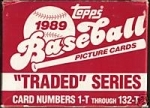 1989 Topps Traded Set