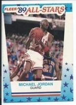 1989-1990 Fleer Complete Set w/Stickers