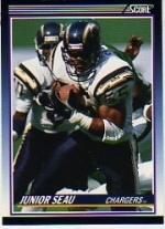 Junior Seau RC (San Diego Chargers)