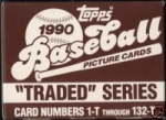 1990 Topps Traded Set