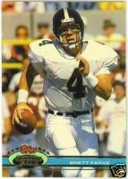 1991  Stadium Club Complete Set- Favre RC
