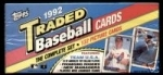 1992 Topps Traded Set