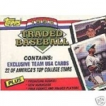 1993 Topps Traded Set