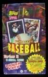 1995 Topps Wax Box - Series 2