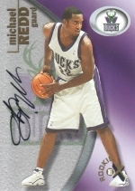 Michael Redd Auto #'d 0360/1500 (Milwaukee Bucks)