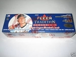 2000 Fleer Tradition Glossy Baseball Factory Set