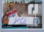 J.R. Smith Auto RC #'d 0111/1999 (New Orleans Hornets)