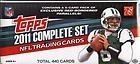 2011 Topps Complete Set - Football
