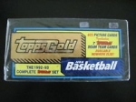 1992-93 Topps Gold Basketball Factory Set
