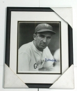 Carl Hubbell - Autogprahed 8 x 10 (Giants)