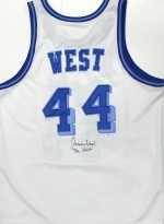 Jerry West-Autographed Jersey (Los Angeles Lakers)