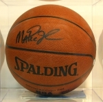 Magic Johnson-Autographed Basketball (Los Angeles Lakers)
