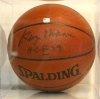 George Mikan- Autographed Basketball- GAI(Los Angeles Lakers)
