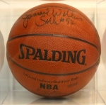 Jamaal Wilkes-Autographed Basketball (Los Angeles Lakers)