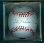 Autographed Baseball Billy Williams GAI (Chicago Cubs)
