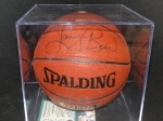 Larry Bird- Autographed Basketball (Boston Celtics)