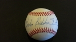 Charles Bubba Smith Autographed Baseball - GAI (Baltimore Colts)