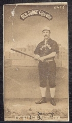 Jimmy Burns (Chicago) Batting