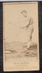 W.H. Clarke (Chicago) Batting