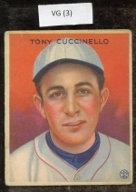 tony cuccinello (Brooklyn Dodger)