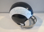 Deacon Jones Autographed Mini Helmet (Los Angeles Rams)