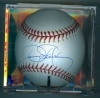 Autographed Baseball Dennis Eckersley (Oakland Athletics)