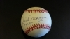 Joe DiMaggio Autographed Baseball GAI (New York Yankees)