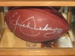 Eric Dickerson-Autographed Football-GAI (St Louis Rams)