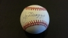 Joe DiMaggio Autographed Baseball - GAI (New York Yankees)