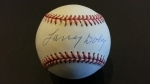Autographed Baseball Larry Doby (Cleveland Indians)