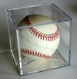 Autographed Baseball Duke Snider (Brooklyn Dodgers)