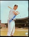 Eddie Mathews Signed 8x10 (Milwaukee Braves)