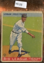 red faber (Chicago White Sox)