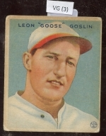 goose goslin (Washington Senators)