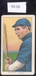 Clarke  Griffith/Batting/SWEET CAP/ (Cincinnati)