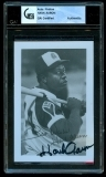 Hank Aaron Signed Photo (Atlanta Braves)