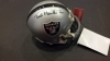 Ted Hendricks Autographed Mini Helmet (Raiders)