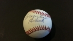 Elroy Hirsch Autographed Baseball GAI (Los Angeles Rams)