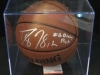 Dwight Howard-Autographed Basketball-PSA (Orlando Magic)